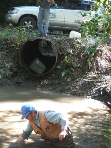 East Fork Walker Creek culvert